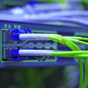 Glasfaser-Netzwerke